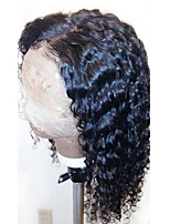 Hot Full Lace Wigs Curly Brazilian Full Lace Human Hair Wigs with Baby Hair 130% Density Brazilian Virgin Human Hair Natural Hairline for Black Women