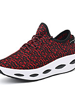 Women's Sneakers Spring Summer Comfort Crib Shoes Tulle Outdoor Athletic Casual Creepers Gore Red Black Running