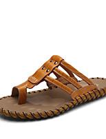 Мужские тапочки&Шлепанцы летние сангина удобные легкие подошвы воловья на открытом воздухе случайные шипованные водные ботинки