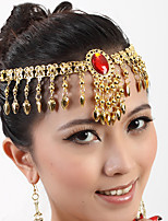 Belly Dance Headpieces Women's Performance Metal 1 Piece Headpieces