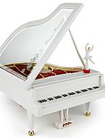 Music Box Piano Novelty & Gag Toys ABS Unisex