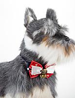Кошка собака матрос регулируемый воротник bowtie