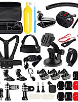 QQT For gopro 50 in 1 Action Camera Accessories Kit for GoPro Hero 5 4 3 3 2 1 with Carrying Case/Chest Strap/Octopus Tripod
