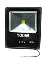1 pcs hkv® 100w 8850-9950lm 2800-3200k 6000-6500k branco quente frio branco levou projector (ac 85-265v)