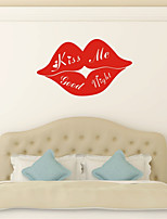 AYA DIY Funny Wall Stickers  Kiss Me Good Night