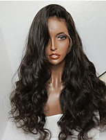 New Style Brazilian Virgin Hair Glueless Lace Wigs Natural Wave Lace Front Human Hair Wig with Baby Hair Virgin Wary Hair Wig for Woman