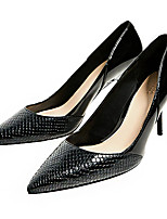 Для женщин Обувь на каблуках Светодиодные подошвы клуб Обувь Кашемир Весна Лето Свадьба Для офиса Для праздника Для вечеринки / ужина