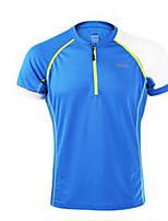 унисекс Бег Весна Спортивная одежда Спорт в свободное время Экологичность Полиэстер Тонкие Оранжевый Темно-синий Желтый