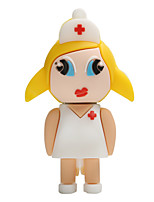 Hot New Cartoon Female Nurse USB2.0 128GB Flash Drive U Disk Memory Stick