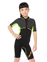 WELLPATH® Kid's Unisex Thermal / Warm Ultraviolet Resistant Neoprene Diving Suit Short Sleeve Diving Suits-Swimming Diving Beach Surfing