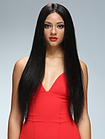 Silky Straight Unprocessed Lace Front Human Hair Wigs Glueless Human Hair Wigs for Black Women Brazilian Virgin Human Hair Front Lace Free Shipping