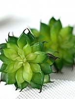 1 Branch Plastic Plants Tabletop Flower Artificial Flowers 7.5*3.5cm