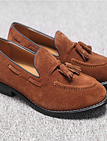-Для мужчин-Для прогулок Повседневный-Замша-На низком каблуке-Удобная обувь-Мокасины и Свитер