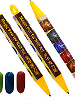 1pcs Fashion Cute Nail Art Magic Pen Cat Eye Magnetic Pen Nail DIY Beauty Painting Pen Nail Art Dotting Tool Convenient Beauty Tool