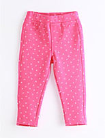 Girls' Casual/Daily Polka Dot Pants-Cotton Spring Fall