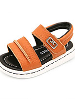 Girls' Sandals Summer First Walkers Cowhide Casual Flat Heel