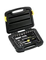 Stanley® 94-189-22 65pcs 6.3mm / 10mm Schraubenschlüssel gesetztes Haushaltswerkzeugsatz Reparaturwerkzeug
