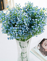 9 Branch Polyester Baby Breath Tabletop Flower Artificial Flowers