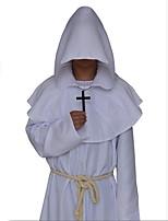 Cosplay Kostýmy Čaroděj/Čerodějnice Upír Vrah Festival/Svátek Halloweenské kostýmy Černá Bílá Modrá Červená Hnědá Jednolitý