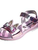 Girls' Sandals Summer Comfort PU Outdoor Flat Heel Walking