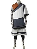 Inspiré par Assassin Ace Vidéo Jeu Costumes de Cosplay Costumes Cosplay Mosaïque Blanc Noir Rouge Gris Sans ManchesManteau Veste Haut