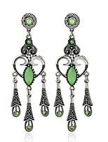 Boucles d'oreilles Cristal Original Mode euroaméricains Alliage Bijoux Pour Mariage Soirée Anniversaire 1 paire