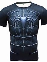 Course / Running Tee-shirt Shirt Respirable Doux Confortable Eté Vêtements de sport Exercice & Fitness Sport de détente Course/Running
