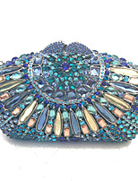 Women Evening Clutch Handbags Handmade with High Grade Crystals