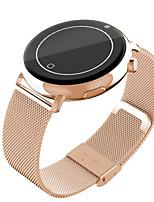 Gold Bluetooth Smart Watch C7 1.22 imperméable à l'eau des hommes bracelet bluetooth 4.0 gsm moniteur de fréquence cardiaque