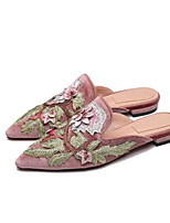Women's Sandals Summer Slingback PU Casual Silver Black