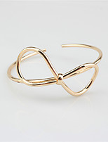 Women's Cuff Bracelet Fashion Alloy Geometric Jewelry For Wedding Party Special Occasion Gift 1 pcs