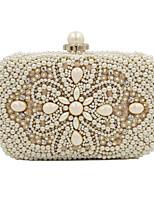 L.WEST Woman Fashion Luxury High-grade Imitation Pearl Evening Bag