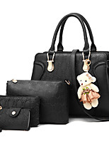 M.Plus Women's Fashion Soid Shoulder Messenger Crossbody Bag Sets/Handbags Tote