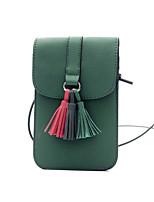 Femme Polyuréthane Décontracté Extérieur Mobile Bag Phone