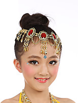 Belly Dance Headpieces Girls´ Performance Tulle Crystals/Rhinestones 1 Piece Headpieces