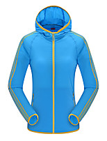 LEIBINDI® Women's Jacket Tops  Hiking Climbing Hiking Breathable Quick Dry Windproof Ultraviolet Resistant Sunscreen