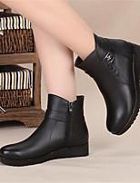 -Для женщин-Для прогулок Повседневный-Полиуретан-На плоской подошве-Удобная обувь-Мокасины и Свитер