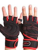 Exercise Gloves for Fitness Fingerless Gloves Breathable Protective