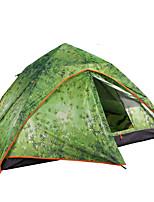 3-4 человека Световой тент Двойная Автоматический тент Однокомнатная Палатка 2000-3000 мм Алюминий ОксфордВлагонепроницаемый