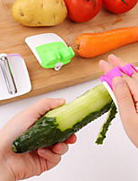 1Pcs New Finger Held Palm Peeler Easy Hold Vegetable Fruit Salad Slicer Kitchen Tool Random  Color