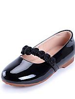 Черный Серебряный Розовый-Для женщин-Повседневный-ПолиуретанУдобная обувь-Мокасины и Свитер