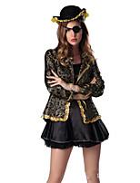 Badedrakt/Kjoler Søt Lolita Lolita Cosplay Lolita-kjoler Svart Helfarve Kort / Mini Til