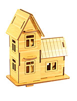 Jigsaw Puzzles 3D Puzzles Building Blocks DIY Toys House 1 Wood Model & Building Toy