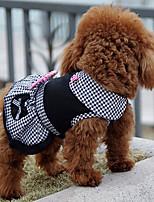 Cães Vestidos Roupas para Cães Inverno Verão Primavera/Outono PrincesaFofo Casamento Aniversário Férias Da Moda Casual Esportivo Clássico