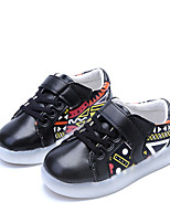 Girls' Athletic Shoes Summer Comfort PU Outdoor Flat Heel Lace-up