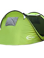 3-4 persons Single Automatic Tent One Room Camping TentCamping Traveling