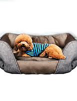 Кошка Собака Кровати Животные Коврики и подушки Мягкий Серый