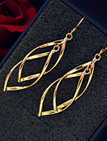 Drop Earrings Jewelry Dangling Style Pendant Alloy Silver Gold Jewelry ForWedding Party Special Occasion Birthday Thank You Engagement