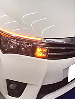 2014-2017 Year Toyo-ta Corolla LED DRL Turn Signal Lamp Kit White/Yellow Colors(Left/Right Side LED Lamp Kit)