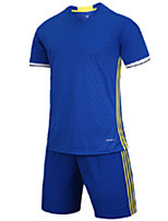 Men's Soccer Jersey + Shorts Breathable Spring Summer Fall/Autumn Classic Polyester Football/Soccer